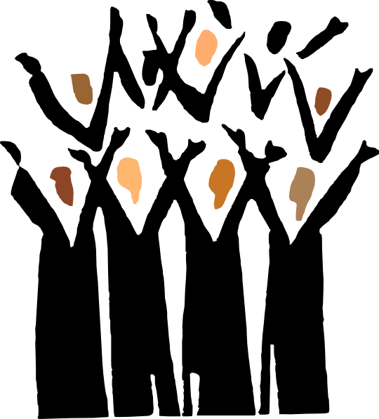 Go Back > Gallery For > Black Choir Clipart