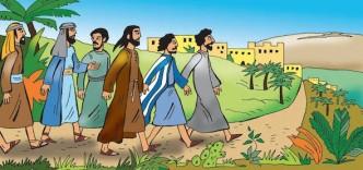 Jesus på väg